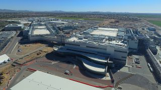 Intel's Ocotillo Fab in Arizona pictured from above