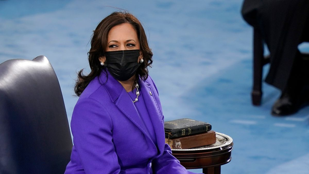 The hidden message behind Kamala Harris' inauguration outfit