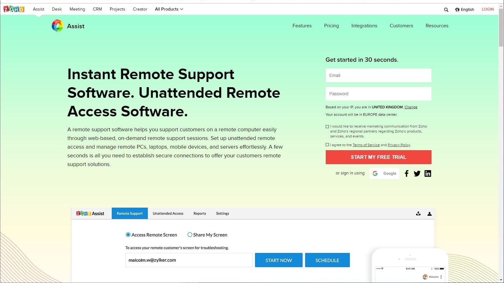 Zoho Assist review | TechRadar