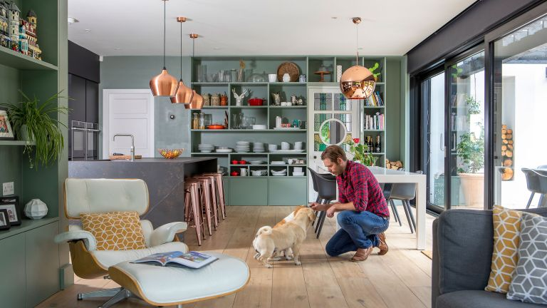 James Lockwood and Matt Tucker have transformed a neglected period house into a striking and colourful modern home