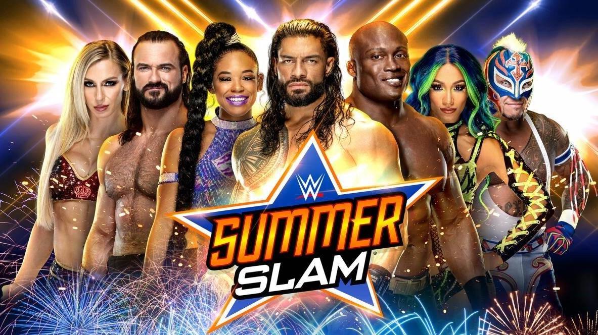 WWE SummerSlam line up including Belair and Banks II