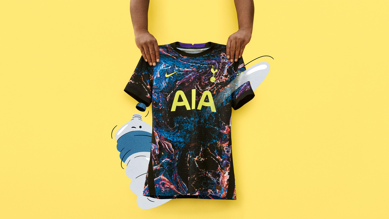 Nike Unveil New Tottenham Away Shirt Ahead Of 2021 22 Season Fourfourtwo