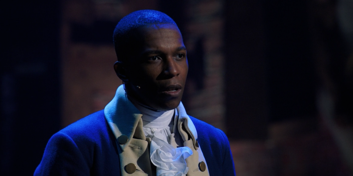 Leslie Odom Jr. as Aaron Burr