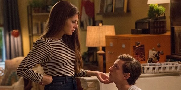Aunt May and Peter in Homecoming
