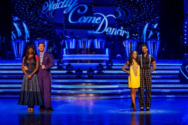 Peter Andre faces Jamelia in the dance-off on Strictly Come Dancing