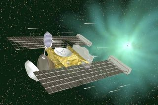 NASA's Stardust spacecraft carried comet and interstellar particles back to Earth in January, 2006.