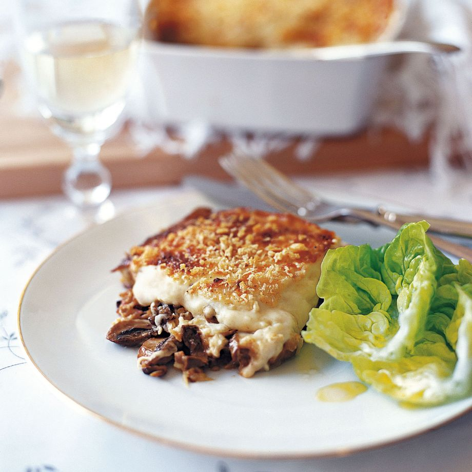 Mushroom and Prosciutto Lasagne Recipe