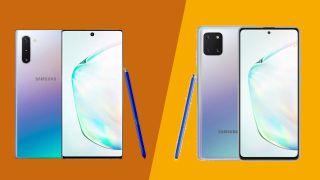 Samsung Galaxy Note 10 vs Galaxy Note 10 Lite