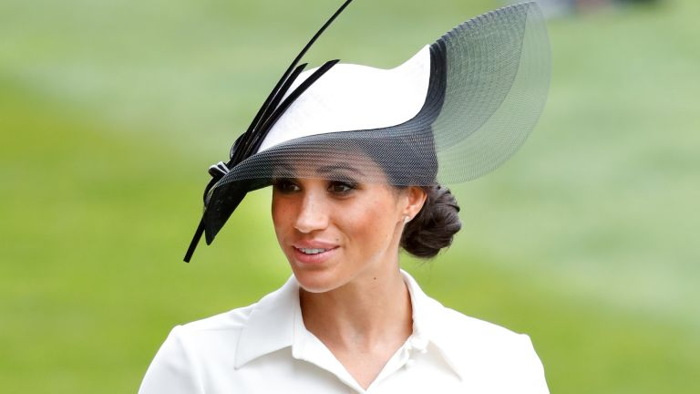 Meghan Markle attends day 1 of Royal Ascot at Ascot Racecourse on June 19, 2018 in Ascot, England
