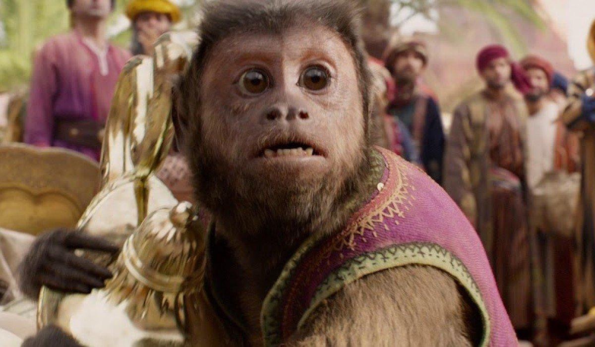 Abu in live-action Aladdin 2019