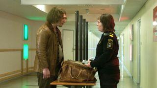 Eva Melander as Tina and Eero Milonoff as Vore in Border.