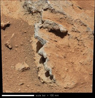 Martian Area Named 'Hottah'