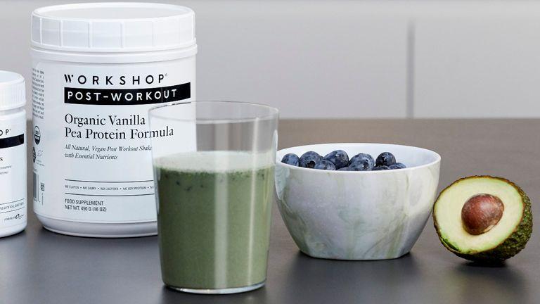 Protein shake recipe from Workshop Gymnasium