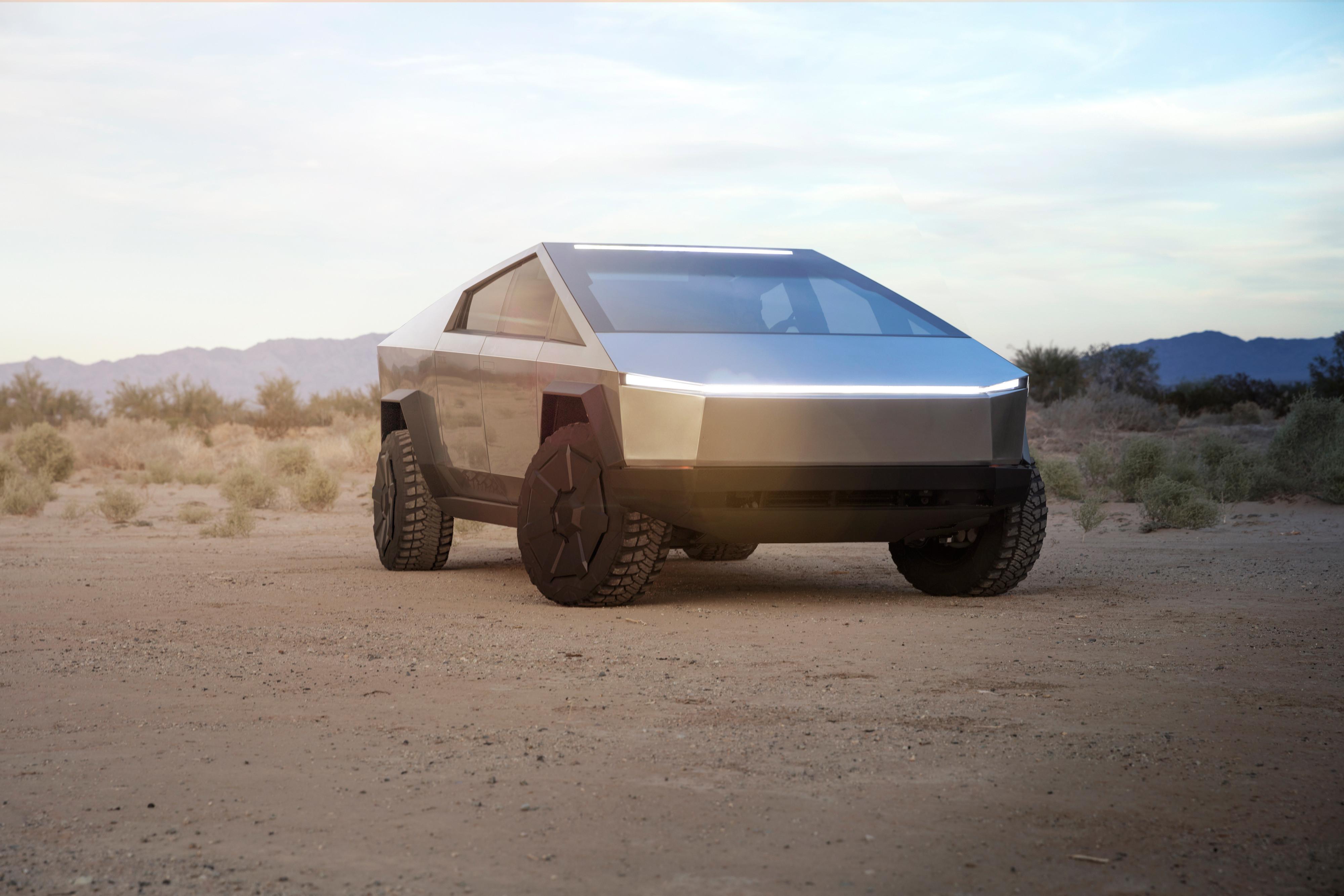 Cybercamion Tesla