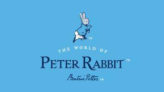 The new Peter Rabbit logo.