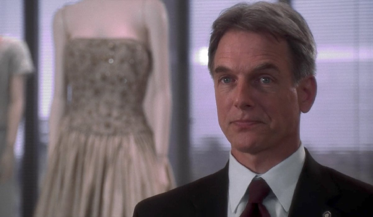 The West Wing Mark Harmon at the dress shop