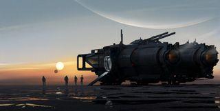 Mass Effect 5 concept art