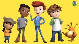Characters of Ready Jet Go!