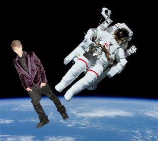 Justin Bieber in Space