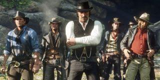 The Van der Linde Gang in Red Dead Redemption 2
