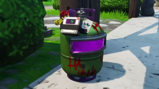 Fortnite Joker gas canisters
