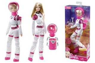 Mattel's Mars Explorer Barbie