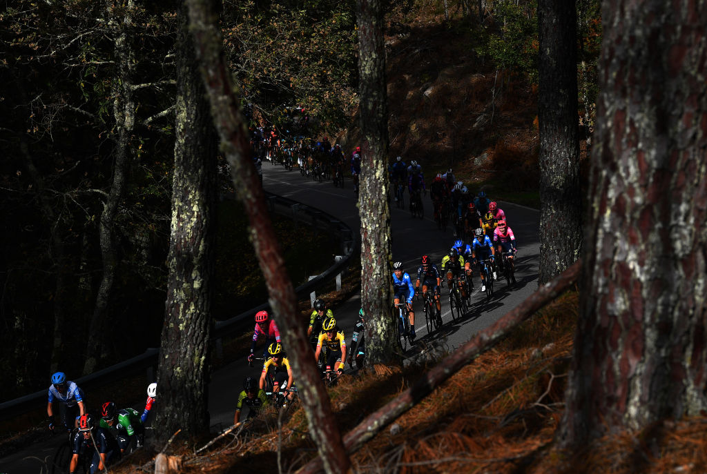 There is a clear autumnal feel at the Vuelta a España