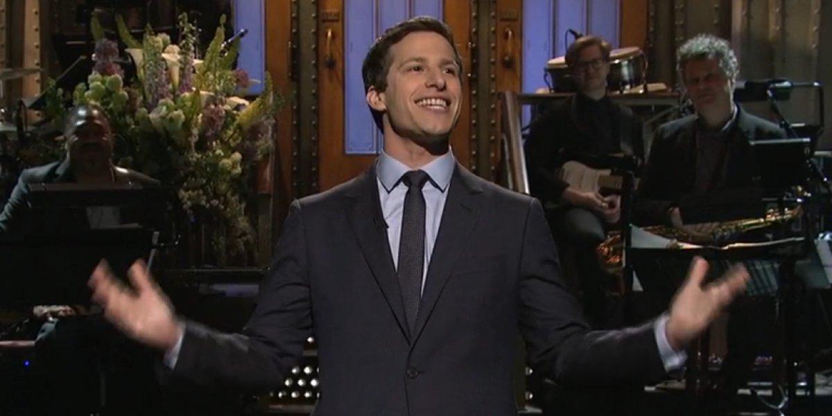 Andy Samberg hosting Saturday Night Live