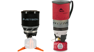 Jetboil vs MSR Windburner: Jetboil MiniMo and MSR Winburner
