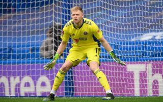 Sheffield United goalkeeper Aaron Ramsdale