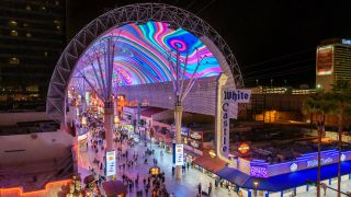 Watchfire Signs has finished its renovation of the 1,500-foot-long digital canopy that covers Fremont Street Experience in Las Vegas.