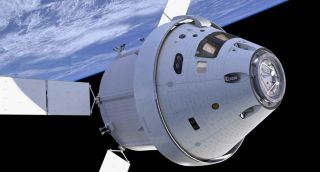 Artist's Concept of NASA's Orion Spacecraft