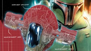 """New blueprint variant covers from Marvel's """"Star Wars: War of the Bounty Hunters"""" comics offer a detailed glimpse at bounty hunter spaceships."""