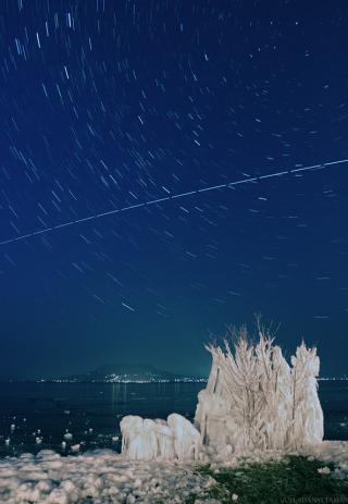 ISS over Batalon