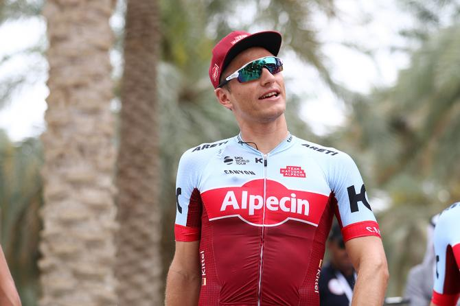 Marcel Kittel at the start of stage 5 of the Abu Dhabi Tour