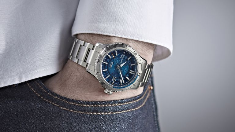 Christopher Ward's new dive watch has a transparent sapphire dial