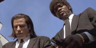 John Travolta and Sam Jackson in Pulp Fiction