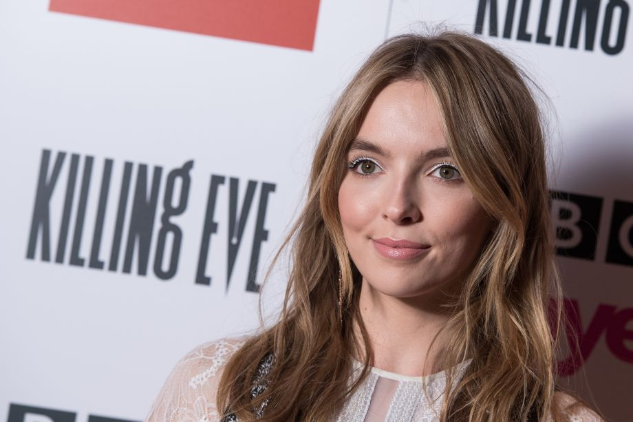 Jodie Comer attends the series two premier of Killing Eve
