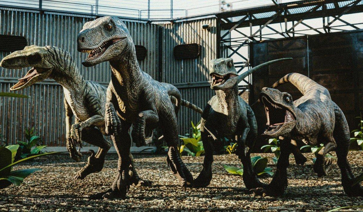 Raptors in Jurassic World