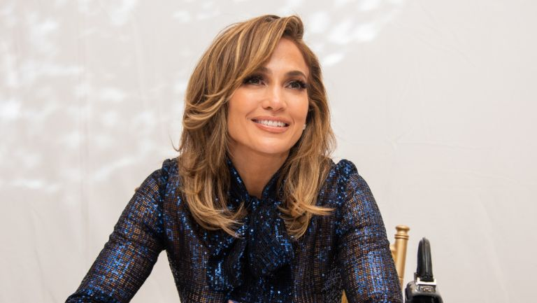 """Jennifer Lopez at the """"Hustlers"""" Press Conference at the Fairmont Royal York on September 07, 2019 in Toronto, Canada."""