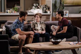 Neighbours spoilers, Aaron Brennan, David Tanaka, Emmett Donaldson