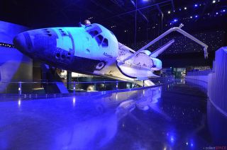 Space Shuttle Atlantis in New Exhibit