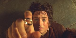 Elijah Wood as Frodo in The Fellowship of the Ring