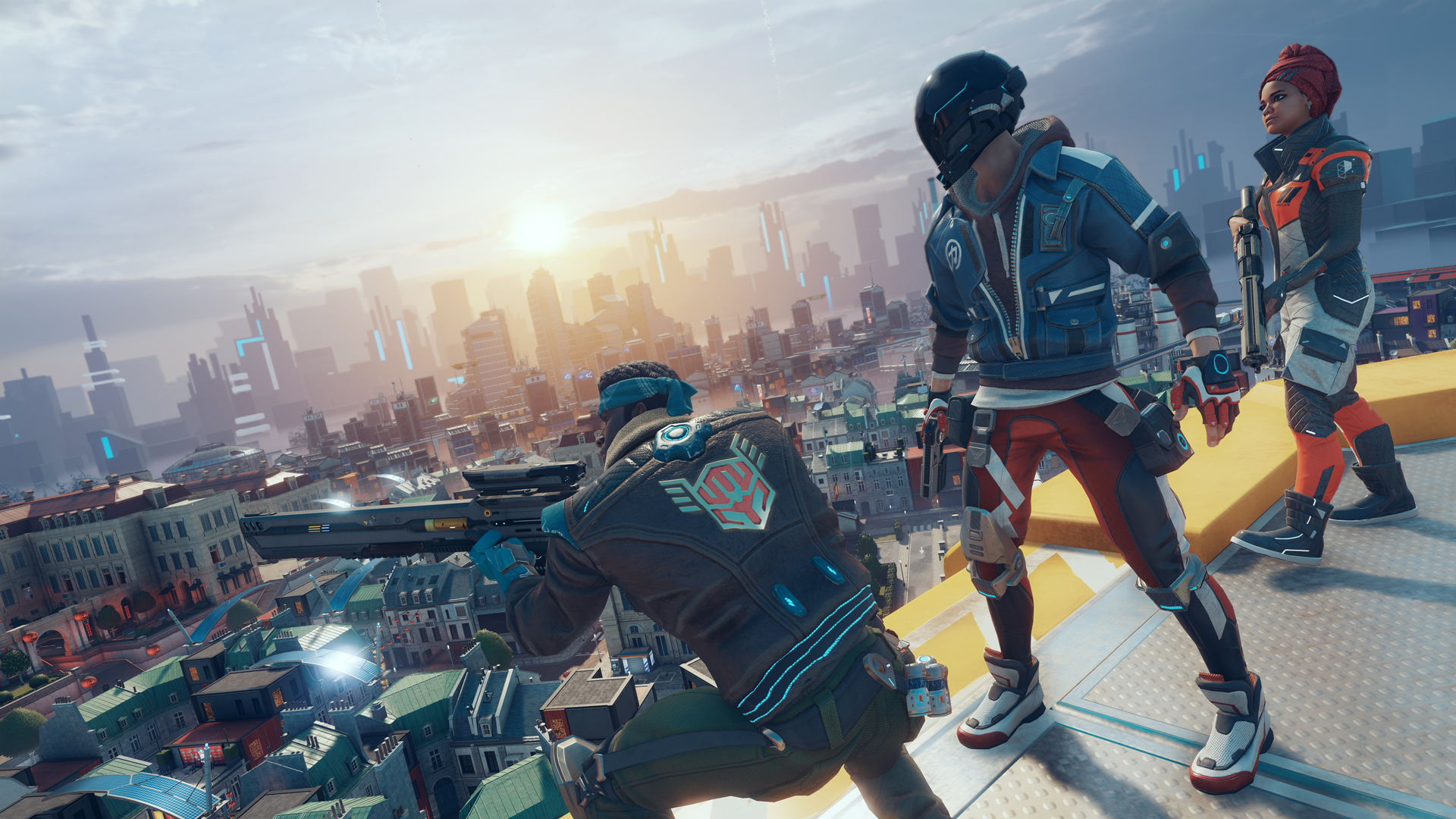 Hands-on with Hyper Scape, Ubisoft's urban battle royale shooter ...