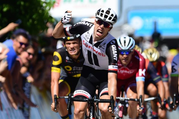 Phil Bauhaus wins 5th stage of Criterium du Dauphine