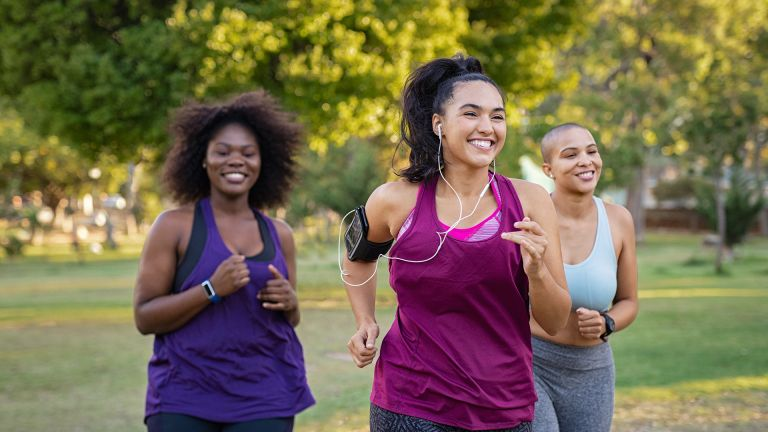 How to lose weight from your hips: Women running