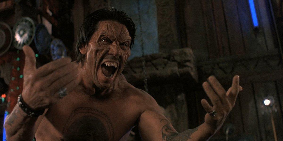 Danny Trejo as Razor Charlie in From Dusk Till Dawn