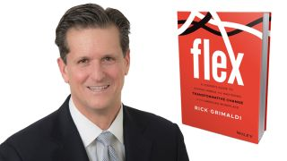 Rick Grimaldi is the author of FLEX: A Leader's Guide to Staying Nimble and Mastering Transformative Change in the American Workplace