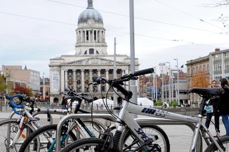 Bike park, Nottinghamshire