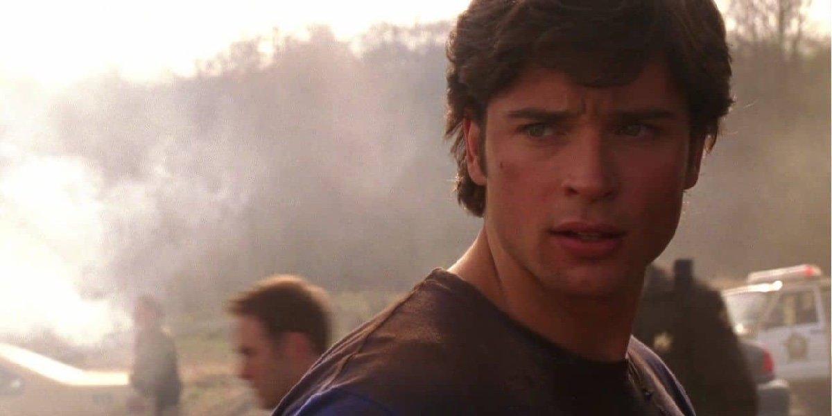 Tom Welling as Clark Kent in Smallville.